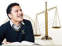 Legal studies student.