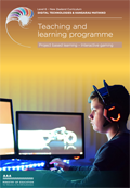 Programme 5 – Project based learning: Interactive gaming.